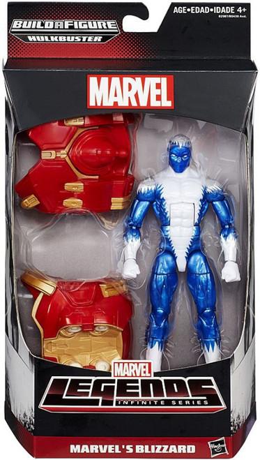 Marvel Legends Avengers Hulkbuster Series Marvel's Blizzard Action Figure
