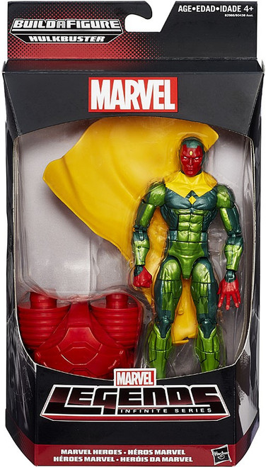 Marvel Legends Avengers Hulkbuster Series Vision Action Figure [Marvel Heroes]