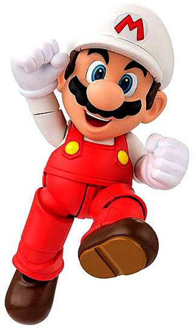 Super Mario S.H. Figuarts Fire Mario Action Figure