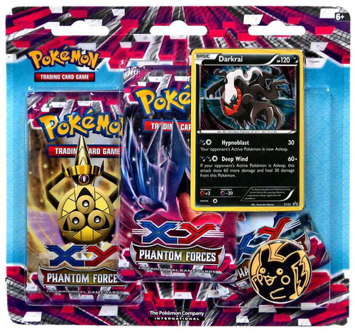 Pokemon Trading Card Game XY Phantom Forces Darkrai Special Edition [3 Booster Packs & Promo Card]