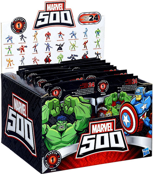 Marvel 500 Micro Series 1 Mystery Box [24 Packs]