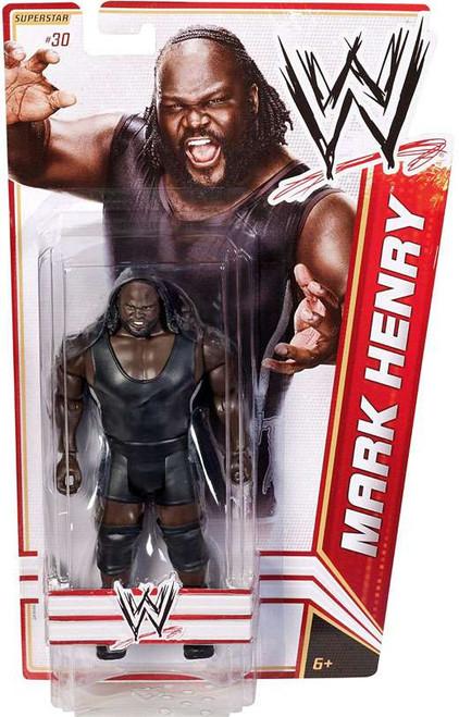 WWE Wrestling Series 17 Mark Henry Action Figure #30 [Damaged Package]