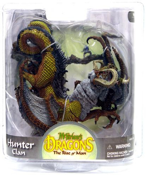 McFarlane Toys Dragons The Rise of Man Series 8 Hunter Clan 2 Action Figure [Damaged Package]