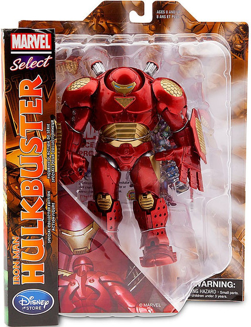 Disney Avengers Marvel Select Iron Man Hulkbuster Exclusive Action Figure