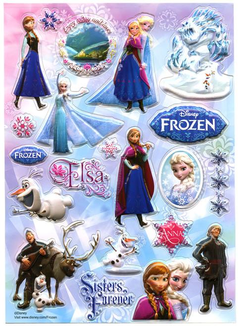 Disney Frozen Sisters Forever Sticker Sheet