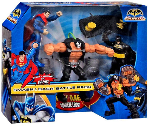 Batman Unlimited Smash & Bash Battle Pack Action Figure 3-Pack