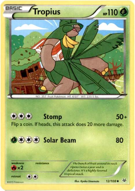 Pokemon X & Y Roaring Skies Uncommon Tropius #12