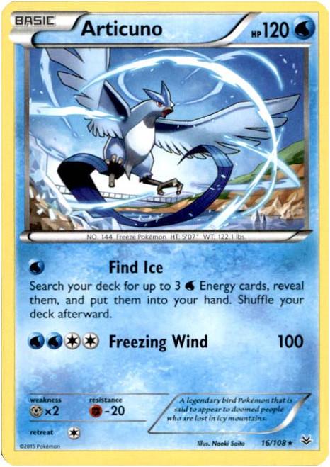 Pokemon X & Y Roaring Skies Rare Articuno #16