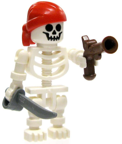 LEGO Pirates Skeleton Pirate Minifigure [Flintlock & Saber Loose]