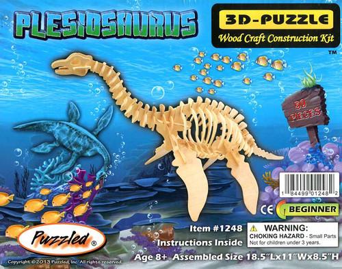 3D-Puzzle Wood Construction Kit Plesiosaurus Puzzle #1248