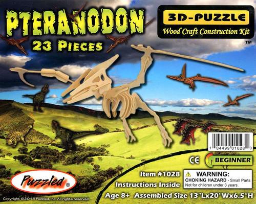 3D-Puzzle Wood Construction Kit Pteranodon Puzzle #1028