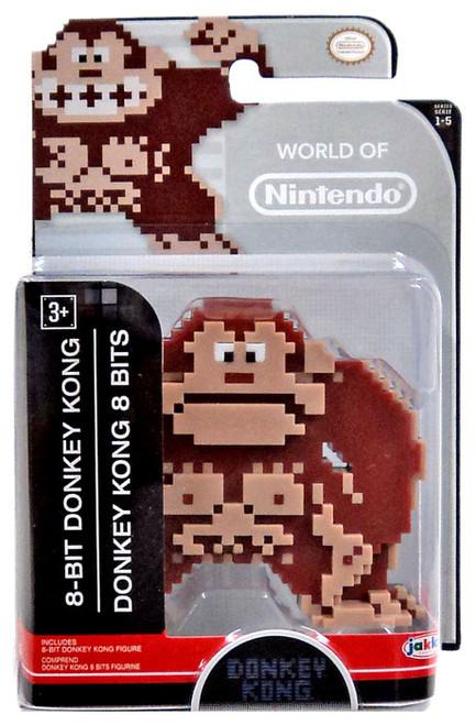 World of Nintendo 8 Bit Donkey Kong 2.5-Inch Mini Figure