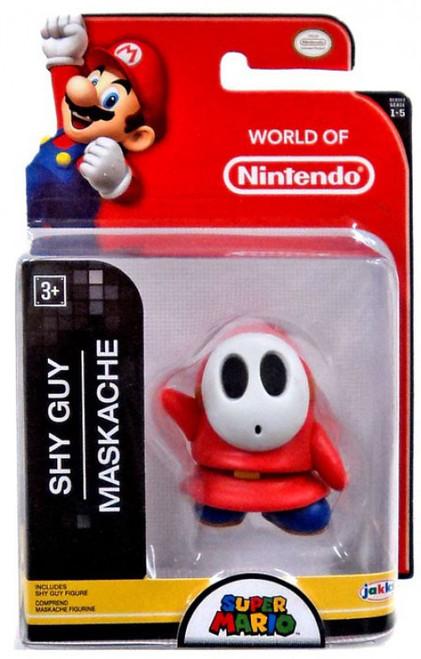 World of Nintendo Super Mario Shy Guy 2.5-Inch Mini Figure