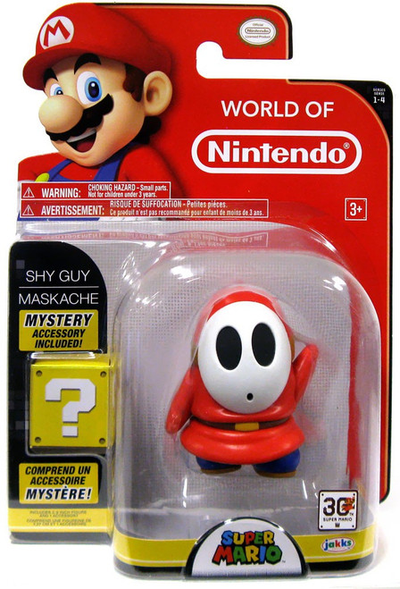 World of Nintendo Series 4 Shy Guy Action Figure [With Coin]