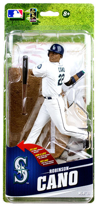 McFarlane Toys MLB Seattle Mariners Sports Picks Series 33 Robinson Cano Action Figure [White Uniform]
