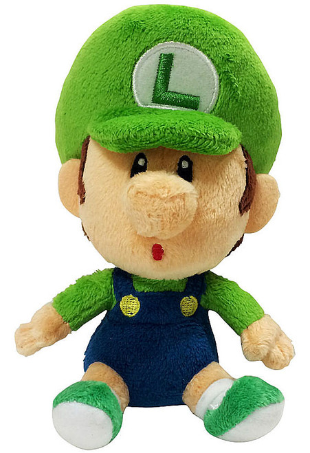 World of Nintendo Super Mario Baby Luigi 7-Inch Plush