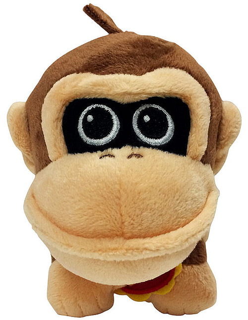 World of Nintendo Baby Donkey Kong 7-Inch Plush