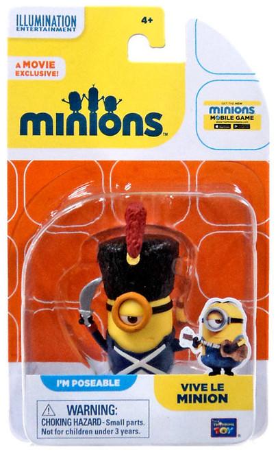 Despicable Me Minions Movie Vive Le Minion Action FIgure