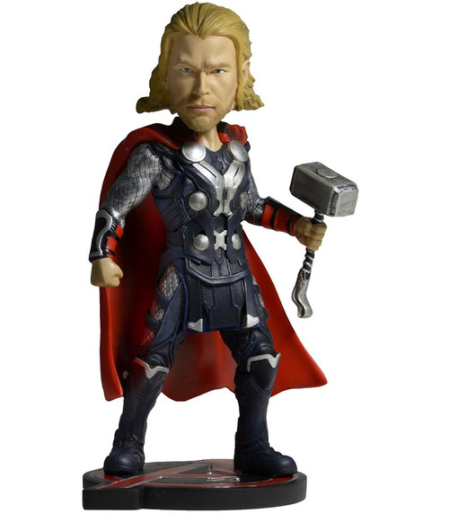 NECA Marvel Avengers Age of Ultron Thor Head Knocker Extreme