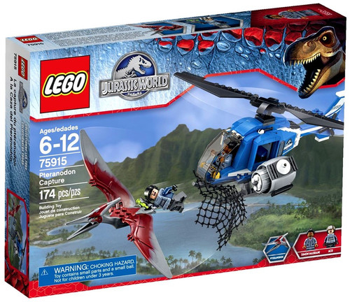 LEGO Jurassic World Pteranodon Capture Set #75915
