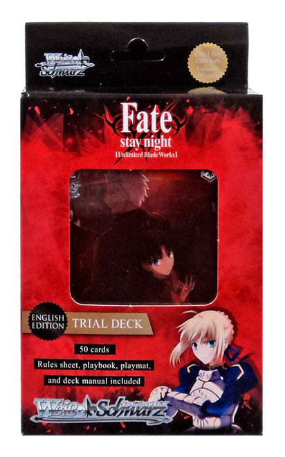 Weiss Schwarz Fate/Stay Night Trial Deck [English Edition]