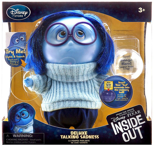 Disney / Pixar Inside Out Sadness Exclusive Deluxe Talking Action Figure