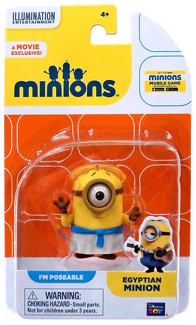 Despicable Me Minions Movie Egyptian Minion Action FIgure
