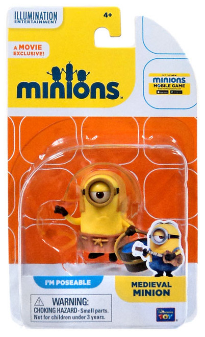 Despicable Me Minions Movie Medieval Minion Action FIgure