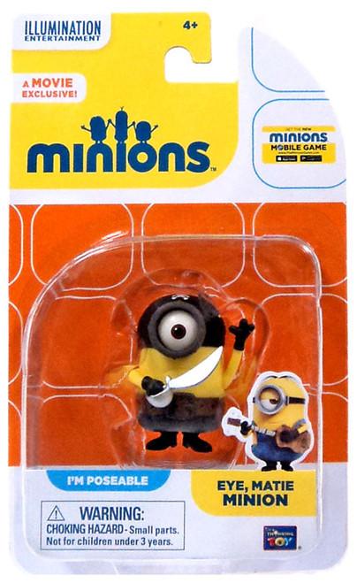 Despicable Me Minions Movie Eye, Matie Minion Action FIgure