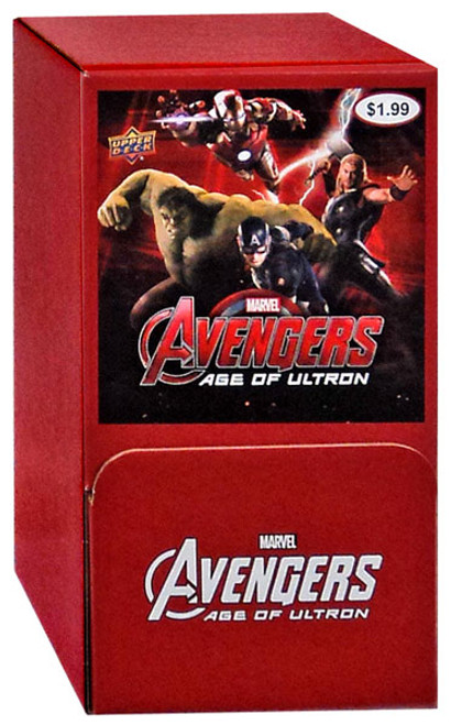 Marvel Avengers Age of Ultron Trading Card GRAVITY FEED Box [36 Packs]