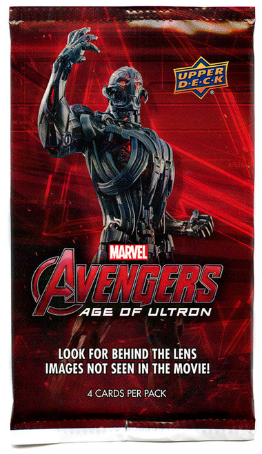 Marvel Avengers Age of Ultron Trading Card Pack [4 Cards]