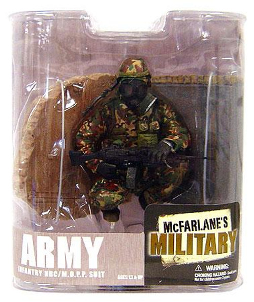 McFarlane Toys Military Series 6 Army Infantry M.O.P.P. Suit Action Figure [Random Ethnicity, Damaged Package]