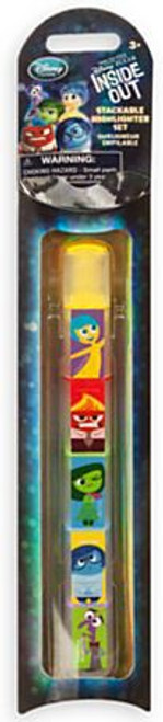 Disney / Pixar Inside Out Stackable Highlighter Set Exclusive