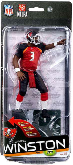 McFarlane Toys NFL Tampa Bay Buccaneers Sports Picks Series 37 Jameis Winston Action Figure