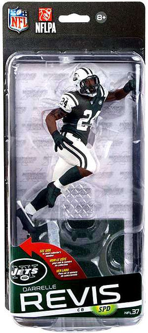 McFarlane Toys NFL New York Jets Sports Picks Series 37 Darrelle Revis Action Figure