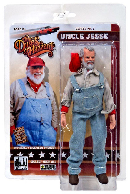 The Dukes of Hazzard Series 2 Uncle Jesse Action Figure