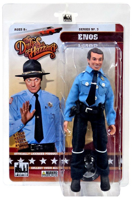 The Dukes of Hazzard Series 3 Enos Action Figure