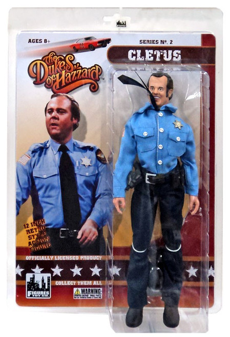 The Dukes of Hazzard Series 2 Cletus Deluxe Action Figure