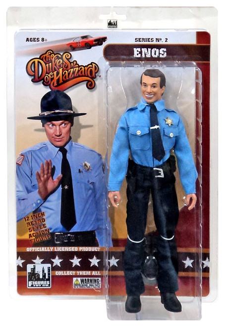 The Dukes of Hazzard Series 2 Enos Deluxe Action Figure