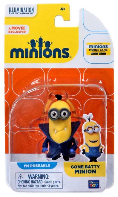 Despicable Me Minions Movie Gone Batty Minion Action FIgure