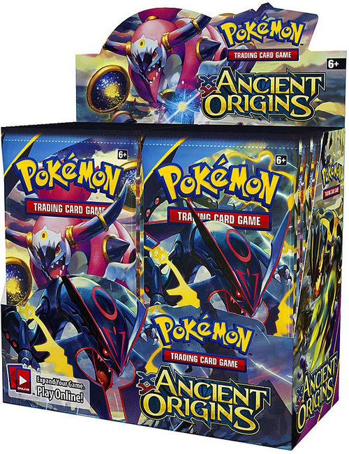 Pokemon Trading Card Game XY Ancient Origins Booster Box [36 Packs]