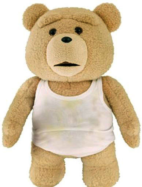 Ted 2 Ted in Tank Top 11-Inch Talking Plush [Explicit]