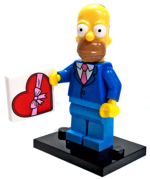 LEGO The Simpsons Simpsons Series 2 Homer Simpson Minifigure [Sunday Best Loose]