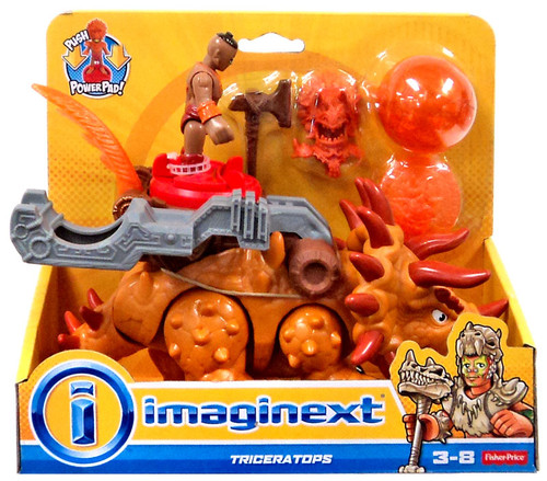 Fisher Price Imaginext Triceratops Action Figure