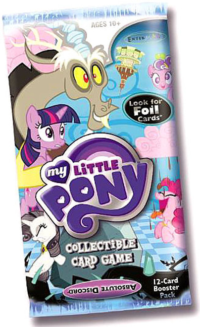 My Little Pony Friendship is Magic Absolute Discord Booster Pack