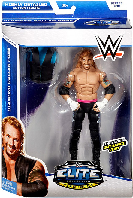 WWE Wrestling Elite Collection Series 36 Diamond Dallas Page Action Figure [Entrance Vest]