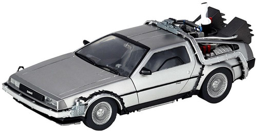 Back to the Future Part II DeLorean Time Machine 6.3-Inch Model