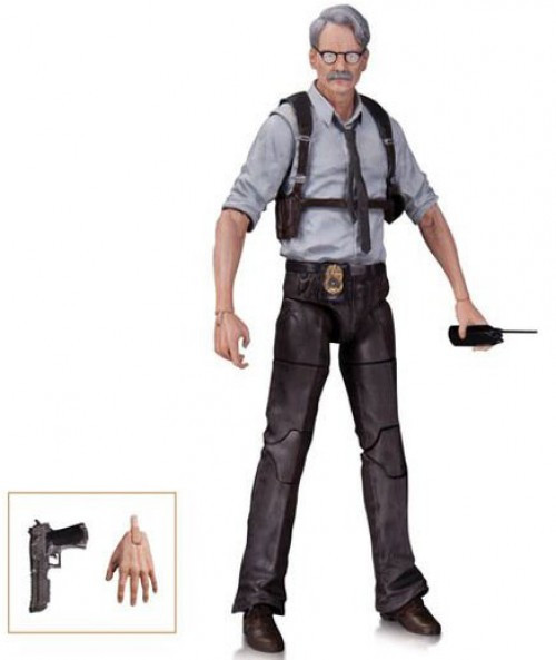 Batman Arkham Knight Commissioner Gordon Action Figure