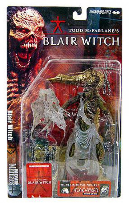 McFarlane Toys Blair Witch Project Movie Maniacs Series 4 Blair Witch Action Figure [Tree Face, Damaged Package]
