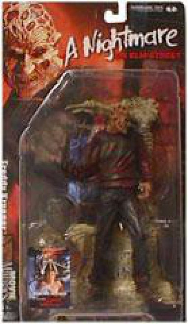 McFarlane Toys Nightmare on Elm Street Movie Maniacs Series 4 Freddy Krueger Action Figure [Damaged Package]